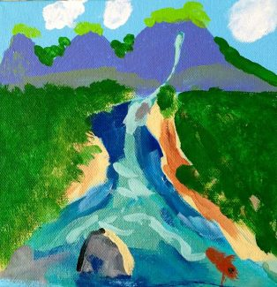 Youth art showcased at Art Works Gallery in Grass Valley