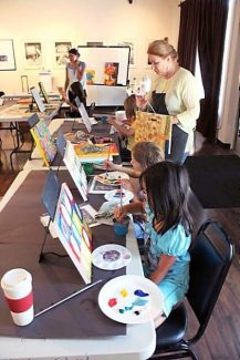 Spaces still available in Visual Arts Camp in Grass Valley