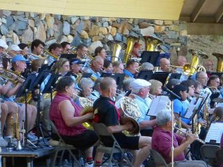 Free band concert set for July 24 at Pioneer Park in Nevada City