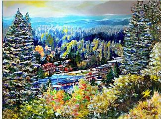 Local artist Nick Vogt to display paintings Sunday