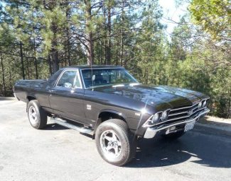 Ron Cherry: A '69 El Camino that's ready for snow