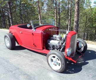 Ron Cherry: Deuce Roadster — classic '60s-style hot rod