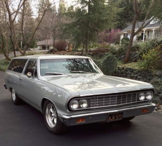 Ron Cherry: A long, winding road with a '64 Chevelle wagon