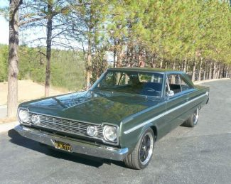 Ron Cherry: Permanent part of the family '66 Plymouth Belvedere