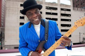 Chicago blues legend Buddy Guy will perform Tuesday at  Veteran's Memorial Auditorium in Grass Valley.