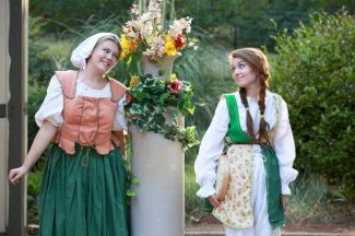 """Maddie Gardiner and Fiona Berardi will appear in """"Twelth Night"""" July 5 at the North Star House. The Shakespearan play will be staged by Quest Theaterworks and benefit the Bear Yuba Land Trust."""