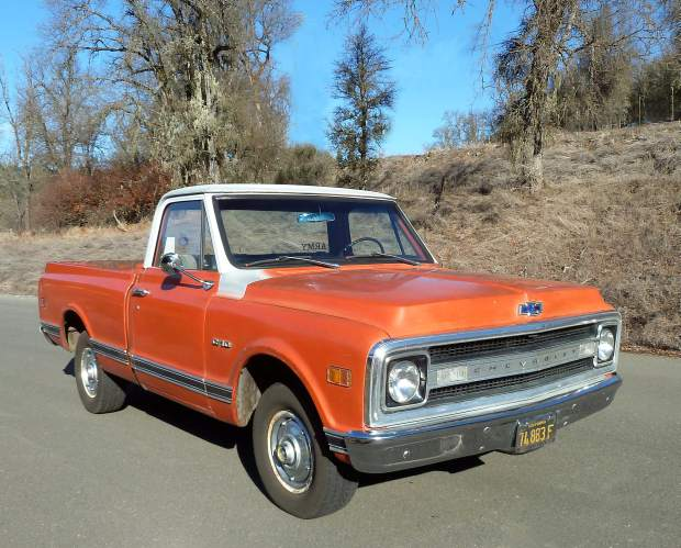 mon cure 70 chevy c10 short bed fleetside pickup theunion Custom Chevy Truck Bumpers submitted