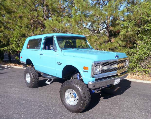 Ron Cherry Restoring A 70 Chevy Blazer With His Own Two Hands Check