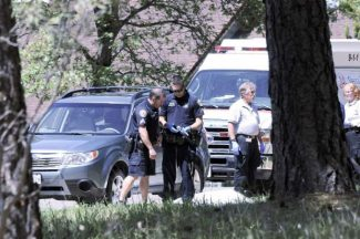 Grass Valley Police, Fire, and ambulance on scene of alleged suicide in Morgan Ranch, Tuesday afternoon.