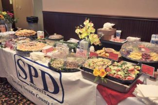 Shown above is SPD Market's spread from last year's Flavor of Nevada County event. SPD will also be participating in this year's event, which takes place today at the Nevada County Fairgrounds.