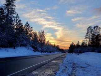 A snowstorm brought slick roads to Nevada County that have spawned several accidents.