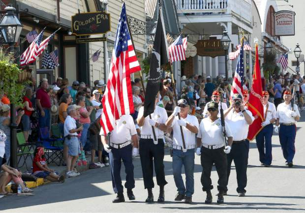Constitution Day Parade in Nevada City Sunday afternoon.