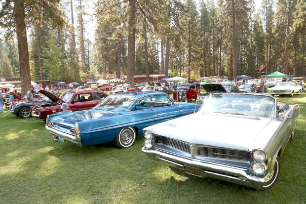 Roaming Angels Car Show at the Nevada County Fairgrounds Sunday morning.