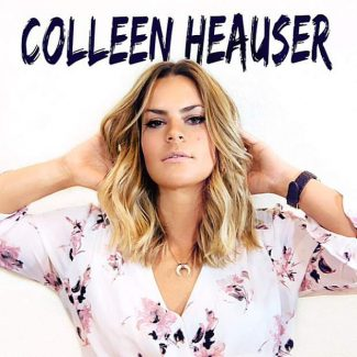 Colleen Heauser at Hot Summer Nights Wednesday in Nevada City