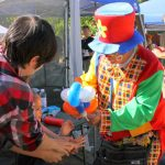 Clowns and magicians are scheduled to entertain kids at Sunday's Bridgeport Fall Festival.