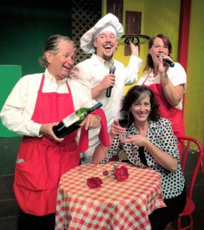 'DiLuca's Internat'l Pizza & Song' opens Friday