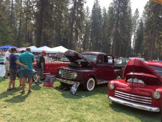 'Cruisin' the Pines' Roamin' Angels Car Show this weekend