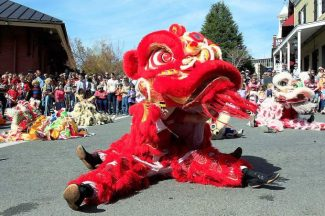 Parade, festival Sunday welcome 'Year of the Monkey'