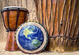 Drums Around the World, dancing Sunday in Nevada City