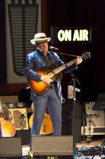 Elvis Costello rocks Liverpool Philharmonic — in Grass Valley