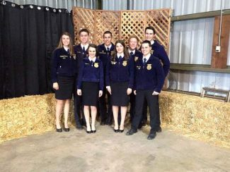 Nevada County FFA chapters compete in regional contest