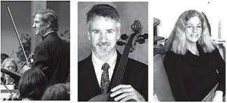 3 musicians to play at 'Bach's Lunch' concert June 28 in Grass Valley