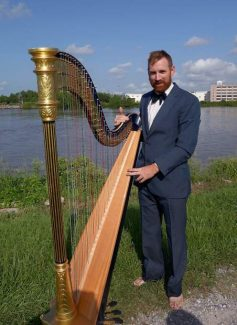 Harp concert set Sunday at The Open Book