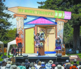 SF Mime Troupe at Pioneer Park in Nevada City Friday