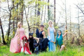 Nevada Union High School dancers 'Dancing Into the Woods'