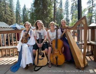 String Sisters at Open Book Sunday