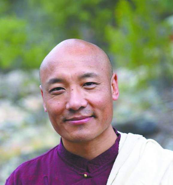 Buddhist author Anam Thubten at Open Book in Grass Valley