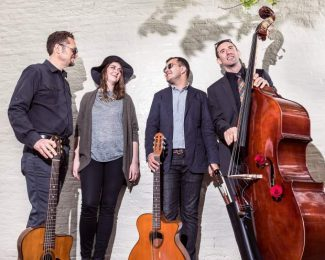 Live gypsy jazz at the Open Book July 30