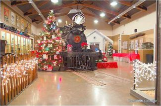 Christmas at the Railroad Museum returns from 10 a.m. to 3 p.m. Saturday at 5 Kidder Court in Nevada City. The free annual program offers refreshments, door prizes, a silent auction, railbus rides and photos with Santa Claus all day long. Call 530-470-0902 for more information.