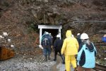 KVMR 89.5 FM listener/members enter the Sixteen-To-One Mine in Alleghany last Saturday. The station offered the tours as a thank you gift in its
