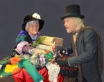 A scene from Scrooge, which opens this weekend at Nevada Theatre.