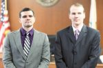 Scott Hollingshead, left, and Christopher Nix, the co-defendants in the Brian Spalding murder trial, were sentenced to life without parole in May.
