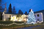 Grass Valley's Abundant Life Community Church has reinstalled its annual holiday lights display.