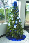 """The """"Wishing Tree"""" in the lobby of Grass Valley Police Department still has some names of children from less than fortunate families, that still need to be shopped for."""