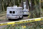 Authorities remained on the scene Tuesday morning of the scene of a fatal shooting.
