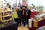 Seven potters and a glass artist will exhibit their craft items this weekend for at the Holiday Pottery Sale in Nevada City.