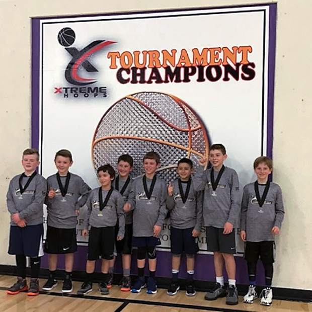 YOUTH BASKETBALL: Nevada County Gold fourth grade team wins tourney championship | TheUnion.com