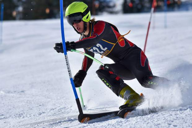 Nevada Union's Keegan Zetterberg, a senior, is headed to the state championships for the first time. He will be competing in both the boys slalom and giant slalom races.