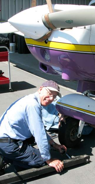 Bill Sommers has flown more than 1,400 Young Eagles. Each kid ends up in the national registry of more than 2 million children who have been given flights.
