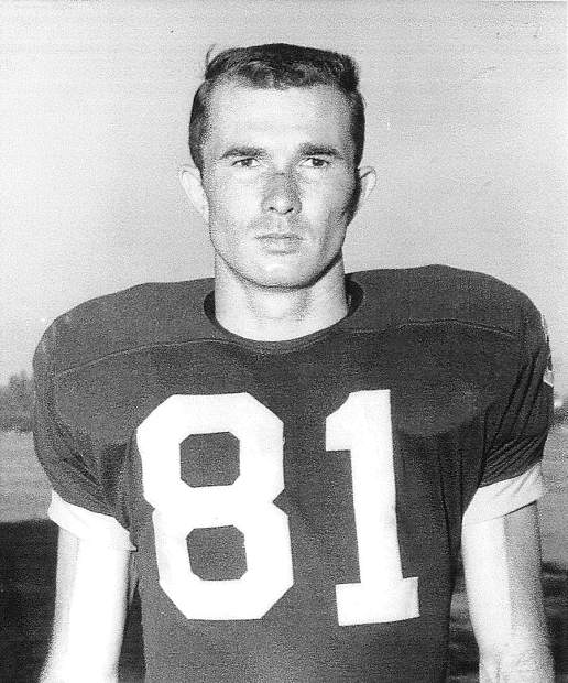 Football was just one of several sports in which 1955 Nevada Union graduate Wayne Brooks shined. While at NU he earned varsity letters in basketball, baseball, track and boxing as well. For his efforts on multiple fields, Brooks is being inducted in the Nevada Union Athletics Hall of Fame Saturday.