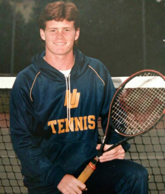 During his time as a player at Nevada Union Dennis Houlihan played football, basketball and tennis.