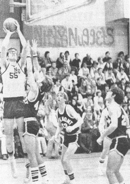 As a student at Nevada Union, Brett Taylor, 55, was impressive on the basketball court, leading the Miners in scoring, rebounding, shooting percentage and free throw percentage in his junior and senior seasons. He was named to the All-Sierra Foothill League team in both those seasons and earned the Gene Jenkins Award which goes to Nevada Union's Most Outstanding Basketball Player.