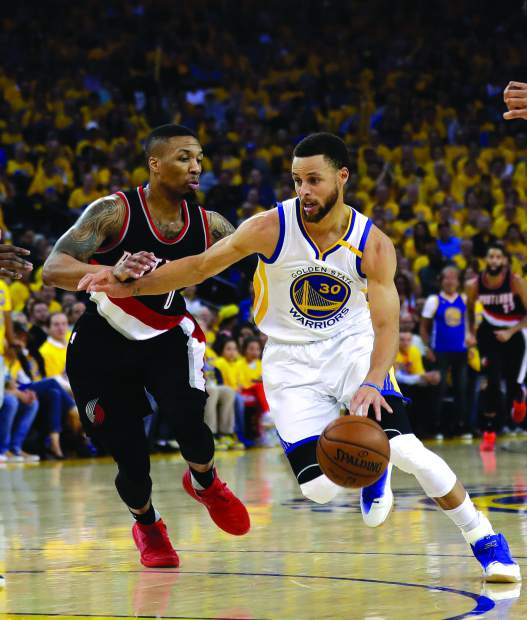 Portland Trail Blazers vs. Golden State Warriors Game 3