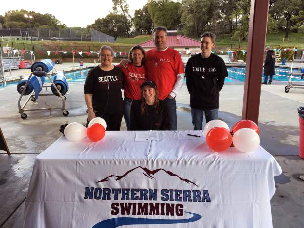Bear River S Bakewell Signs Letter Of Intent To Swim At Seattle University