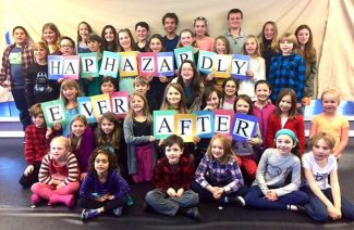 40 young actors take 'Center Stage' to present 'Haphazardly ever after' at North Star House in Grass Valley
