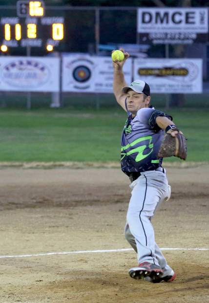 Mike Milligan of Grass Valley's All-Star Automotive is expected to be on the mound when the Pete ' Peters Classic kicks off Aug. 5-6 in Tahoe City. The tournament is an extension of the long running Colfax Recreation Association's long running men's fast pitch tournament which ran 50 straight years from 1966 to 2015.